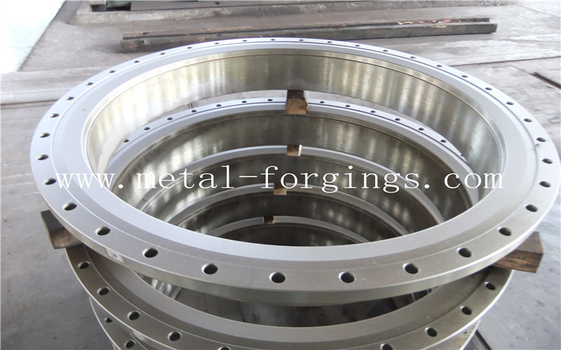 Quenching And Tempering Carbon Steel Flange / Pressure Vessel Flange