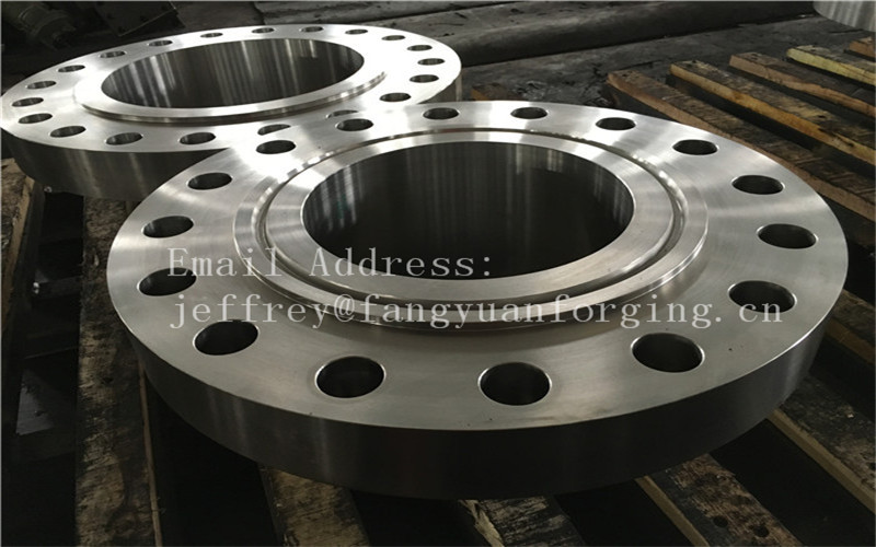 ASME B16.5 WN A350 LF6 Forged Carbon Steel Flange With Nice Packing Or Un-standard Flange