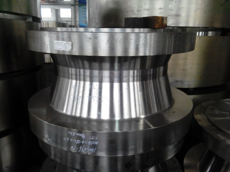 3m*8m Floor Type Milling / Boring Machine Metal Forgings 5m CNC Double Column Vertical Turning Machine