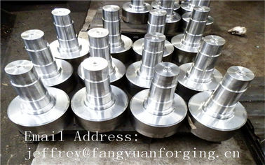 চীন 17CrNiMo6 31CrMOV9 Alloy Steel Forged Shaft  Heat Treatment And Machined কারখানা