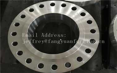 চীন Customized  stainless steel forged flanges  F316L F304L F51 F53 F60 কারখানা