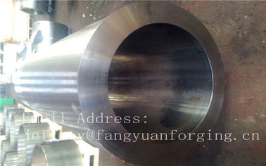 F316H S31609 Stainless Steel Forging Forged Cylinder  Seamless Pipe  Flange