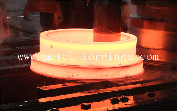 Alloy Steel Carbon Steel Hot Rolled Ring Forgings 4140 34CrNiMo6 4340 C35 C50 C45